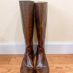 FRYE Melissa Button Back Zip Tall Boots